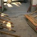 Preparación garaje.