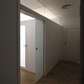 Puerta acceso vivienda y dormitorio