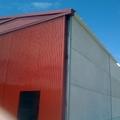 Puerta acceso y cubierta.