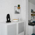 Recibidor mueble blanco