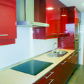 Reforma cocina roja Leganés