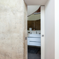 Baño estilo rústico moderno