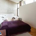 Dormitorio estilo rústico moderno