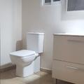 Reforma integral de baño con revestimiento de yeso