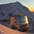 Refugio de Goûter en las montañas