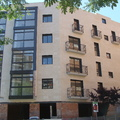 Rehabilitación fachada calle Hostafrancs 1 de Barcelona