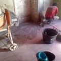 rejuntando suelos