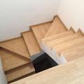 revestimiento de escaleras con tarima