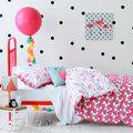 ropa cama flamingo dormitorio infantil