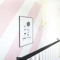 rosa cuarzo en paredes