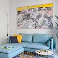 sofá azulón