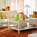 Salón cítrico: la combinación perfecta para ambientes familiares, frescos y divertidos.
