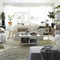 Salón - comedor con muebles funcionales
