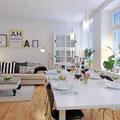Salón comedor nordico