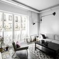 salón con amplios ventanales