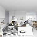 Salón con estilo minimalista