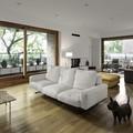 Salón con sala de estar