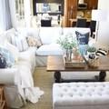 Salón con sofá Ektorp