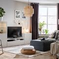 salón con sofá modular de IKEA