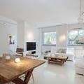 Salon en blanco y madera