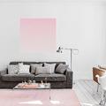 salón en rosa cuarzo