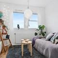 salón y dormitorio en uno