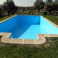 saneado y pintado de piscina