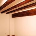 Saneado y refuerzo en vigas de madera