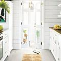 cocina blanca de madera