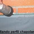 SELLANDO PERFIL CHAPOLAN