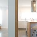 Separación entre el salón y la cocina