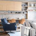sillón azul