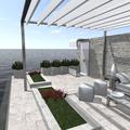 Simulación en terraza