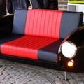 sofá coche