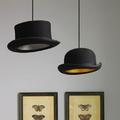 lámpara sombrero