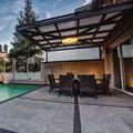 terraza piscina