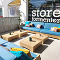Terraza zona chill out