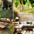 terrazas áticos con plantas