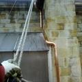 Trabajos verticales en Basilica de Begoña.