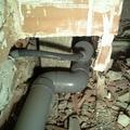 tuberia de aguas residuales