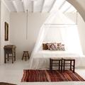 Ventilador de techo en dormitorio