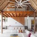 Ventiladores de techo tropicales