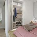 vestidor en hueco armario