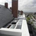 Vista áerea techo móvil