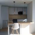 Vista de la apertura hacia la cocina