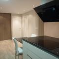 vista desde cocina a las habitaciones