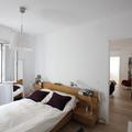Vista desde el dormitorio hacia el salón
