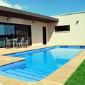 Vista exterior piscina