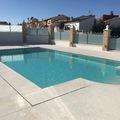 Vista general piscina