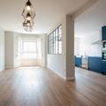 Vista general salón - cocina